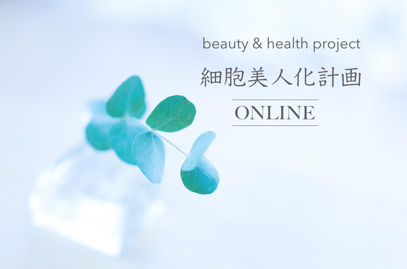 【現在は新規募集をしておりません】月額制オンラインサロン「細胞美人化計画ONLINE」〜もっとおいしくて楽しい毎日で美しく!